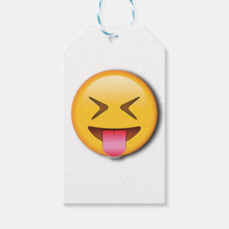 Funny Social Emoji Pack Of Gift Tags