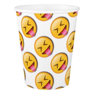 Funny Social Emoji Paper Cup