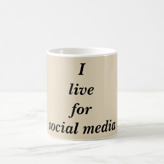 Funny Social Media Quote Coffee Mug