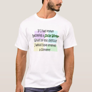 Funny Social Worker Gifts T-Shirt