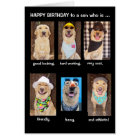 Funny Son Birthday Card