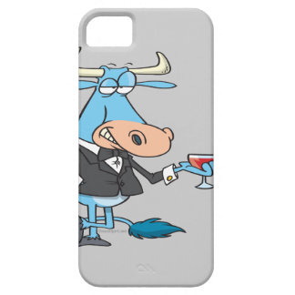 funny sophisticated bull cartoon iPhone 5 covers