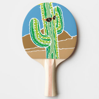 Funny southwestern desert cactus we got beach ping pong paddle