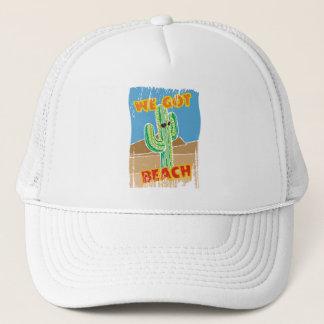 Funny southwestern desert cactus we got beach trucker hat