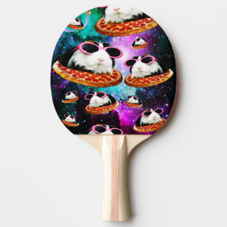 Funny space guinea pig ping pong paddle