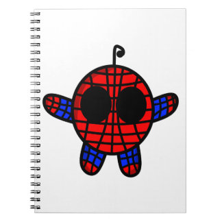 funny spideman dude notebook