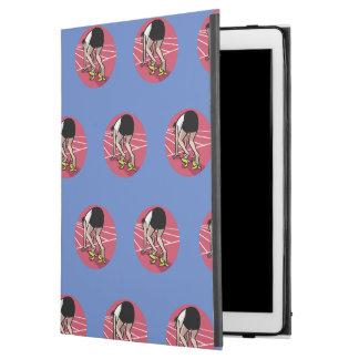 "Funny sprinter iPad pro 12.9"" case"