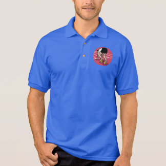 Funny sprinter polo shirt