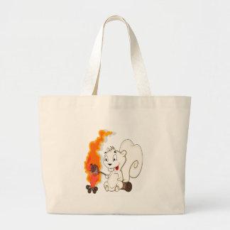 Funny Squirrel Cartoon Bag