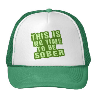 Funny St Patricks Day Drinking Humor Trucker Hat