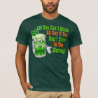 Funny St Patricks Day Drinking Humour T-Shirt