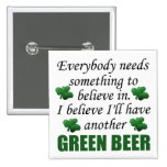Funny St. Patrick's Day Gift Buttons