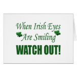 Funny St. Patrick's Day Gift Greeting Card