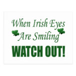 Funny St. Patrick's Day Gift Postcard