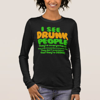 Funny St. Patrick's Day Green Beer Long Sleeve T-Shirt