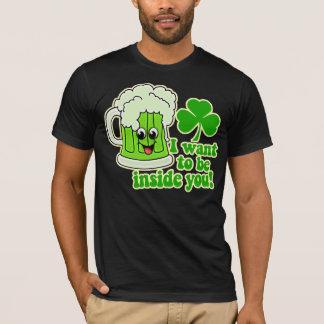 Funny St Patricks Day Green Beer T-Shirt
