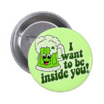 Funny St Patricks Day Irish 2 Inch Round Button