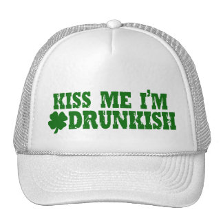 Funny St Patricks Day Irish Trucker Hat