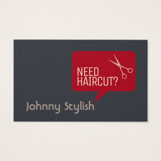 Funny stand out style business card