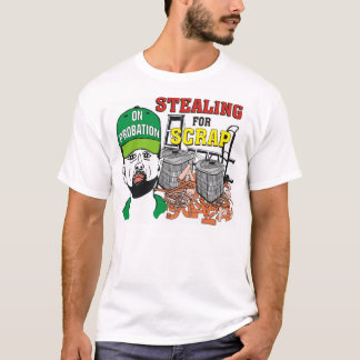 Funny Stealing for Scrap Men's T Shirt