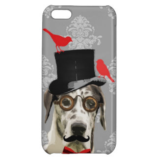 Funny steampunk dog cover for iPhone 5C