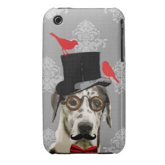 Funny steampunk dog iPhone 3 Case-Mate case