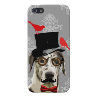Funny steampunk dog iPhone 5/5S cover