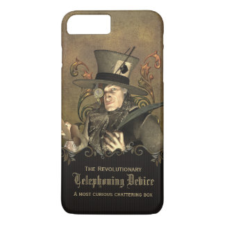 Funny Steampunk Mad Hatter Custom iPhone 8 Plus/7 Plus Case