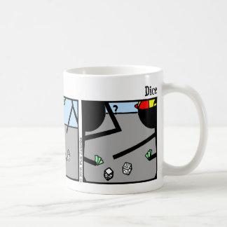 Funny Stickman Dice Mug