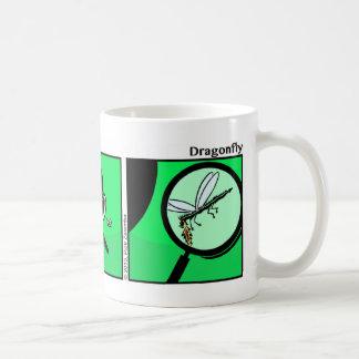 Funny Stickman Dragonfly Mug