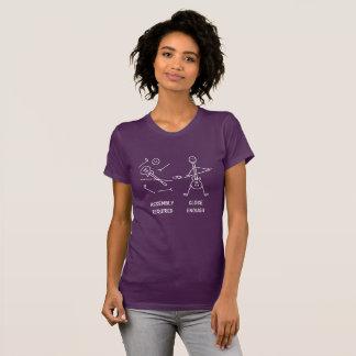 Funny Stickman Guitarist Assembly T-Shirt