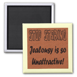 Funny Stop Staring T-shirts Gifts Fridge Magnet