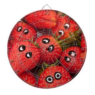 Funny strawberries. dartboard