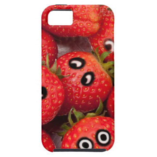 Funny strawberries. iPhone 5 cases