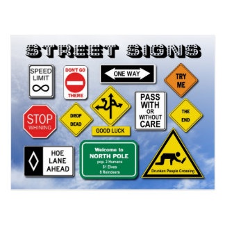 funny street sign ideas