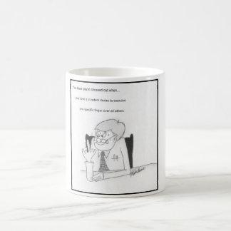 Funny stress mug