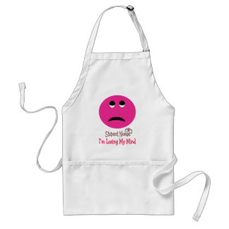 Funny Student Nurse Smiley Face Gifts Adult Apron
