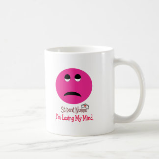 Funny Student Nurse Smiley Face Gifts Coffee Mugs