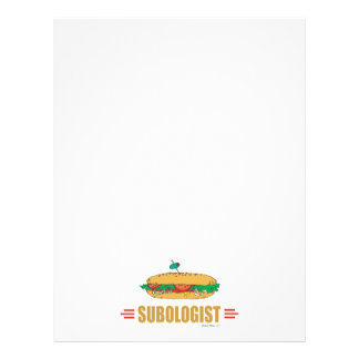 Funny Submarine Sandwich Personalized Flyer
