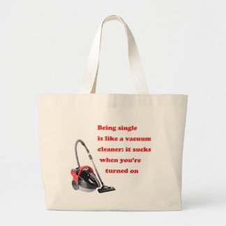 Funny Sucks Being Single Tote Bag