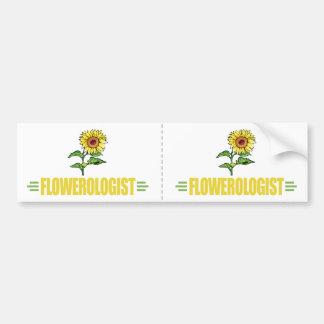 Funny Sunflower Bumper Sticker