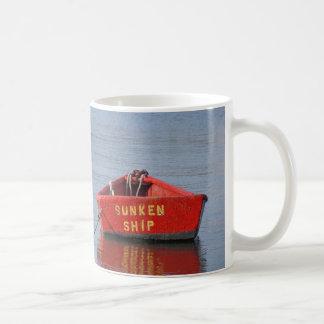 "Funny ""sunken ship"" coffee mug of Nantucket"