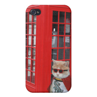 Funny Super Cat/Kitty iPhone 4 Cases
