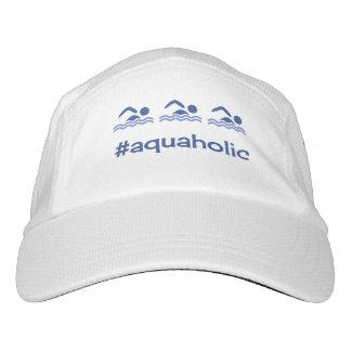 Funny swimming navy custom text hat