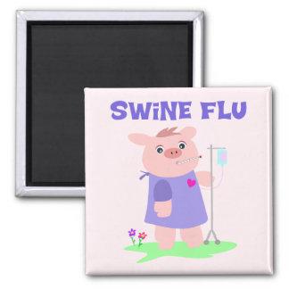 Funny Swine Flu Magnet