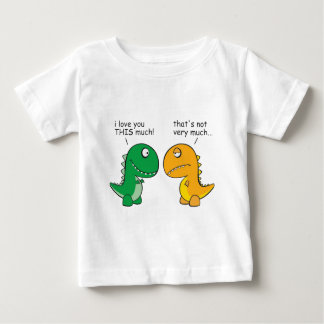 funny-T-Rex-little-arms-cartoon Baby T-Shirt