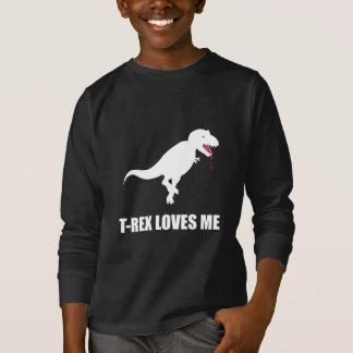 Funny T-Rex Loves Me T-Shirt