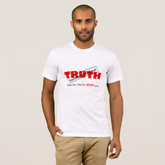 Funny T-Shirt About Truth and Morals