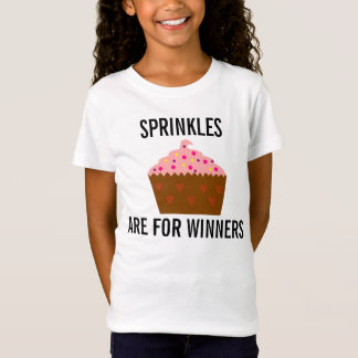 Funny T-shirts for Kids, Sprinkles are for winners