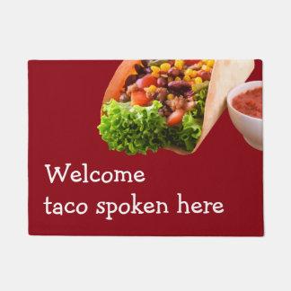 Funny Taco Welcome Mats Doormat